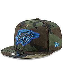 New Era Oklahoma City Thunder Overspray 9FIFTY Snapback Cap