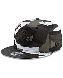 New Era Brooklyn Nets Overspray 9FIFTY Snapback Cap