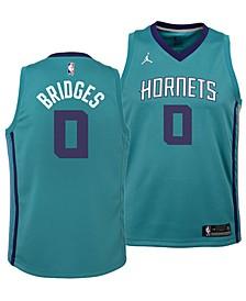Miles Bridges Charlotte Hornets Icon Swingman Jersey, Big Boys (8-20)