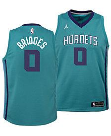 Nike Miles Bridges Charlotte Hornets Icon Swingman Jersey, Big Boys (8-20)