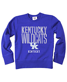 Wes & Willy Kentucky Wildcats Crewneck Sweatshirt, Big Boys (8-20)