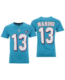 Majestic Men's Dan Marino Miami Dolphins Hall of Fame Eligible Receiver Triple Peak T-Shirt