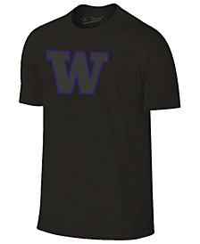 Champion Men's Washington Huskies Black Out Dual Blend T-Shirt