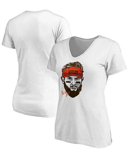 ... VF Licensed Sports Group Women s Baker Mayfield Cleveland Browns  Headband T-Shirt ... d4eca8f9e