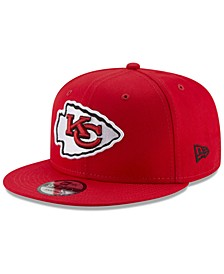 Kansas City Chiefs Basic 9FIFTY Snapback Cap