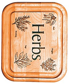 Herb Branded Bar Board