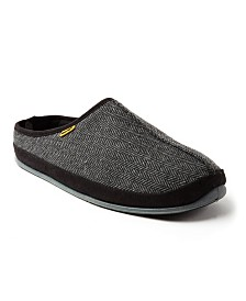 Deer Stags Men's Wherever Tweed Indoor/Outdoor Slipper