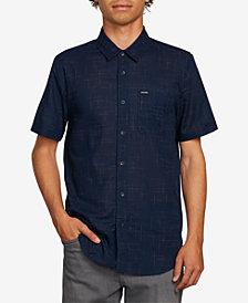 Volcom Men's Quency Dot Short-Sleeve Shirt