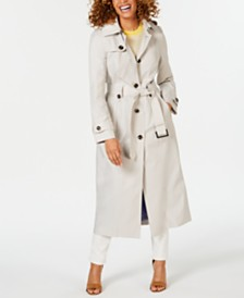 3e1b7ff7a019 Black Trench Coats For Women  Shop Black Trench Coats For Women - Macy s