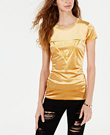 GUESS Velvet Graphic T-Shirt