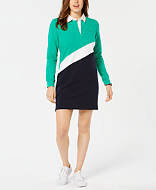 Tommy Hilfiger Striped Rugby Dress, Created for Macy's