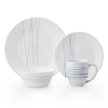 Corelle Silver Strands 16pc Set