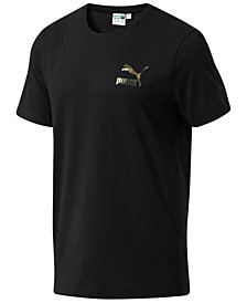 Puma Men's Wild Pack Print-Logo T-Shirt