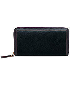 Radley London Witley Faux Pony Zip Around Wallet