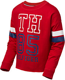 Tommy Hilfiger Big Girls Logo Sweatshirt