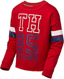 Tommy Hilfiger Big Girls Logo Sweatshirt