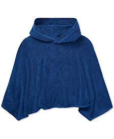 Polo Ralph Lauren Little Girls Hooded Terry Cover-Up