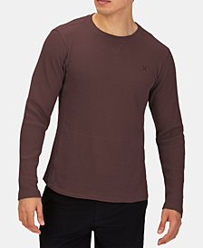 Hurley Mens Seaside Thermal Shirt, Created for Macy's