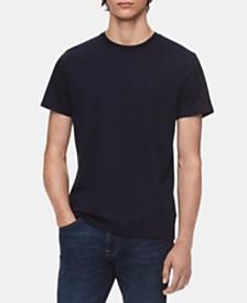 Calvin Klein Men's Solid Jersey Liquid Touch T-Shirt