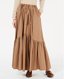 Weekend Max Mara Cotton Maxi Skirt