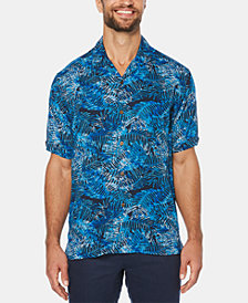 Cubavera Men's Tropical Leaf Short-Sleeve Shirt