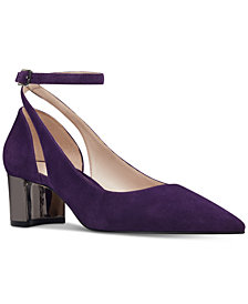 Nine West Quataz Block-Heel Pumps