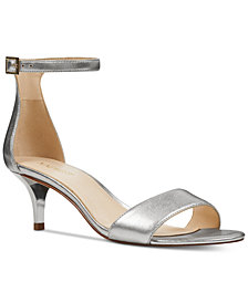 Nine West Leisa Two-Piece Kitten Heel Sandals