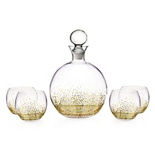 Jay Imports Luster Gold 5 Piece Set