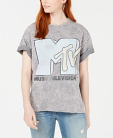 True Vintage Cotton MTV Logo T-Shirt