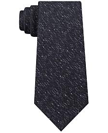 Calvin Klein Men's Slim Bouclé Tie