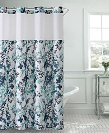 Water Color Floral 3-in-1 Shower Curtain