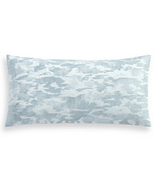 "Hotel Collection Ethereal 300 Thread Count 12"" x 24"" Decorative Pillow, Created for Macy's"