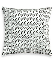 "Iridescence 20"" Square Decorative Pillow, Created for Macy's"