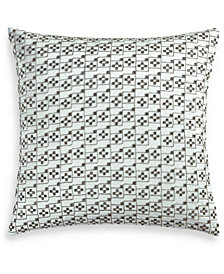 "Hotel Collection Iridescence 20"" Square Decorative Pillow, Created for Macy's"