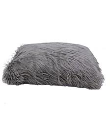 CLOSEOUT! 36x27x4 Keller Carol Faux Mongolian Dog Bed