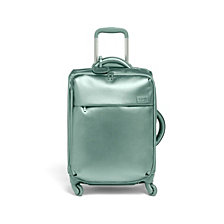 "Lipault Miss Plume 20"" Carry-On Spinner Aqua Green"