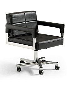Modrest Craig Modern Bonded Leather Office Chair