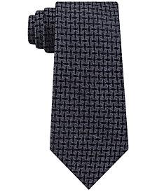 Michael Kors Men's Marl Criss Cross Neat Tie