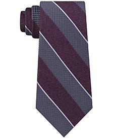 Michael Kors Men's Mixed Media Stripe Tie
