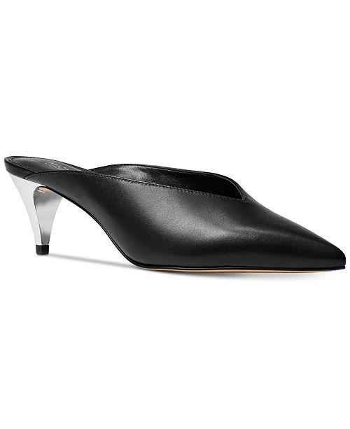 2b855e500e11 Michael Kors Cambria Mules   Reviews - Mules   Slides - Shoes - Macy s