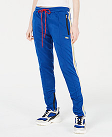 Reason Varsity-Stripe Track Pants