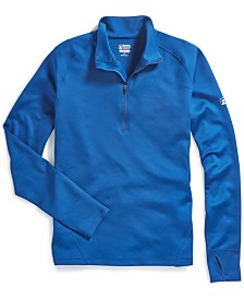 EMS® Men's Techwick Moisture-Wicking Performance Heavyweight 1/4-Zip Base Layer Top