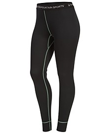 EMS® Women's Techwick Performance Stretch Moisture-Wicking Midweight Base Layer Bottoms
