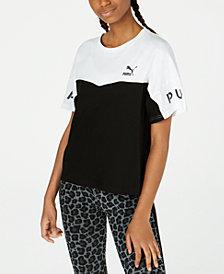 Puma XTG Cotton Colorblocked T-Shirt