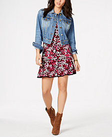 MICHAEL Michael Kors Studded Jacket & Floral-Print Dress