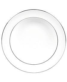 Dinnerware, Blanc sur Blanc Rim Soup Bowl