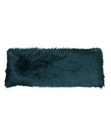 """Keller Faux Mongolian Body Pillow, 54"""" x 20"""""""