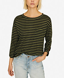 Sanctuary Emmett Linen Striped Top