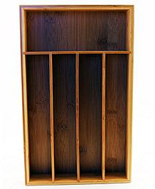 BergHOFF 5-Slot Bamboo Flatware Organizer