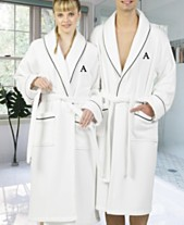 Linum Home Personalized Turkish Cotton Waffle Terry Bath Robe Collection 88c547fba